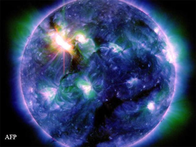 Solar Maximum & Earth's Weakening Magnetic Field